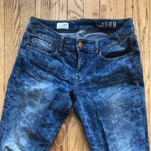 Gap Floral Jeans